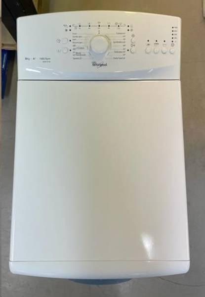 Toppmatet vaskemaskin: 6 kg